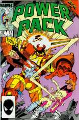 Power Pack (1984-1991) #18 Variant B: Direct Edition