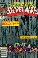 Marvel Super-Heroes Secret Wars (1984-1985) #4 Variant A: Newsstand Edition
