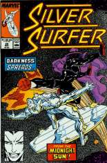 Silver Surfer (1987-1998) #29 Variant B: Direct Edition