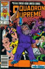 Squadron Supreme (1985-1986) #9 Variant A: Newsstand Edition