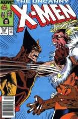 Uncanny X-Men (1963-2011) #222 Variant A: Newsstand Edition