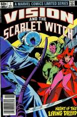 Vision and the Scarlet Witch (1982-1983) #1 Variant A: Newsstand Edition