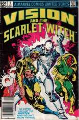 Vision and the Scarlet Witch (1982-1983) #2 Variant A: Newsstand Edition