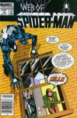 Web of Spider-Man (1985-1995) #12 Variant A: Newsstand Edition