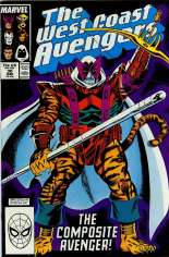 West Coast Avengers (1985-1989) #30 Variant B: Direct Edition