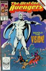 West Coast Avengers (1985-1989) #45 Variant B: Direct Edition