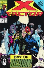 X-Factor (1986-1998) #70 Variant B: Direct Edition
