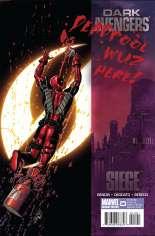 Dark Avengers (2009-2010) #14 Variant B: Deadpool Cover
