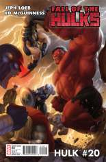 Hulk (2008-2012) #20 Variant B: 1:15 Variant