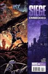Siege: Embedded (2010) #1 Variant B: 2nd Printing