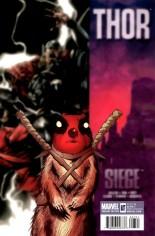 Thor (2007-2011) #607 Variant B: Deadpool Cover