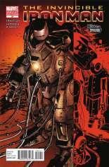 Invincible Iron Man (2008-2012) #24 Variant B