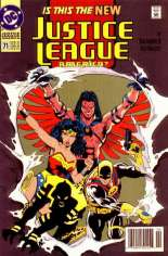 Justice League America (1989-1996) #71 Variant A: Newsstand Edition