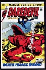 Daredevil (1964-1998) #81 Variant B: Marvel Legends Series VIII Reprint Packaged w/ Black Widow