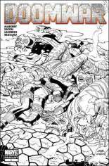 Doomwar #1 Variant C: 2nd Printing