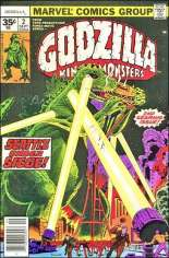 Godzilla (1977-1979) #2 Variant B: 35 Cent Variant