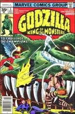 Godzilla (1977-1979) #3 Variant B: 35 Cent Variant