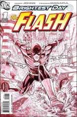Flash (2010-2011) #1 Variant C: Sketch Cover