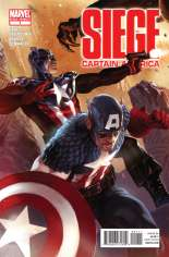 Siege: Captain America (2010) #One-Shot  Variant A