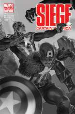 Siege: Captain America (2010) #One-Shot  Variant B: Sketch Cover