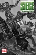 Siege: Young Avengers (2010) #One-Shot  Variant B: Sketch Cover