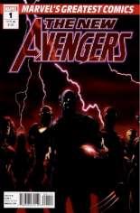 New Avengers (2005-2010) #1 Variant H: Marvel's Greatest Comics Reprint