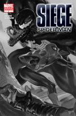 Siege: Spider-Man (2010) #One-Shot  Variant B: Sketch Cover