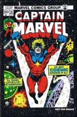 Captain Marvel (1968-1979) #25 Variant C: Marvel Legends Series XV Reprint Packaged w/ Captain Marvel
