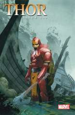 Thor (2007-2011) #609 Variant B: Iron Man by Design Cover