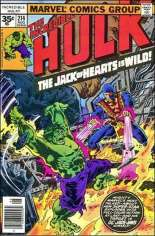 Incredible Hulk (1968-1999) #214 Variant B: 35 Cent Variant