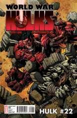Hulk (2008-2012) #22 Variant B: 1:15 Variant