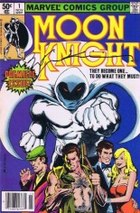 Moon Knight (1980-1984) #1 Variant D: Signed by Bill Sienkiewicz w/ COA
