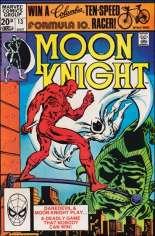Moon Knight (1980-1984) #13 Variant C: UK Edition