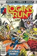 Logan's Run (1977) #7 Variant B: 35 Cent Variant