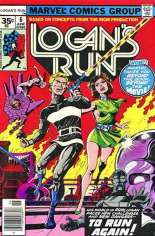 Logan's Run (1977) #6 Variant B: 35 Cent Variant; Back-Up Story Features Thanos & Drax