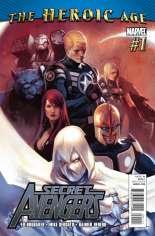 Secret Avengers (2010-2013) #1 Variant A