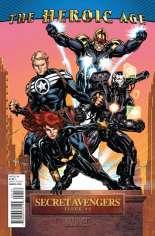 Secret Avengers (2010-2013) #1 Variant B: Heroic Age Cover