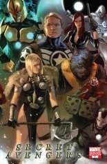Secret Avengers (2010-2013) #1 Variant C: 1:12 Variant