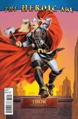 Thor (2007-2011) #610 Variant B: Heroic Age Cover