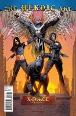 X-Force (2008-2010) #27 Variant B: Heroic Age Variant