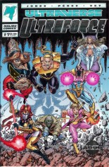 Ultraforce (1994-1995) #1 Variant D: Silver Foil Limited Edition