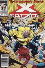 X-Factor (1986-1998) #84 Variant A: Newsstand Edition; Not Polybagged