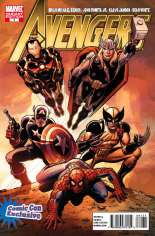 Avengers (2010-2012) #1 Variant H: Comicon Exclusive