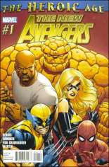 New Avengers (2010-2013) #1 Variant A