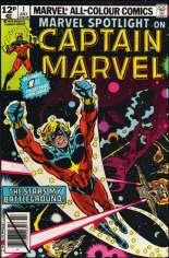Marvel Spotlight (1979-1981) #1 Variant C: UK Edition