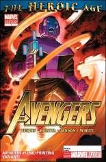 Avengers (2010-2012) #1 Variant J: 2nd Printing