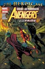 Avengers Prime (2010-2011) #1 Variant C: 2nd Printing