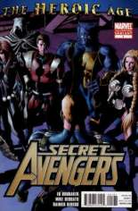 Secret Avengers (2010-2013) #1 Variant F: 2nd Printing