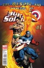 Steve Rogers: Super-Soldier (2010-2011) #1 Variant B: 1:50 Variant