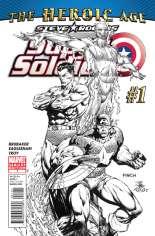 Steve Rogers: Super-Soldier (2010-2011) #1 Variant C: Sketch Cover